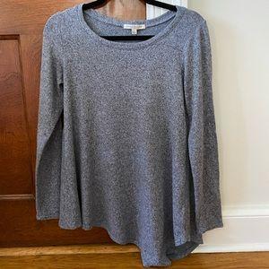 A-symmetrical soft sweater